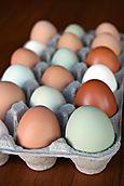 Our farm eggs