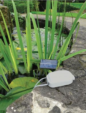 Solar Powered Pond