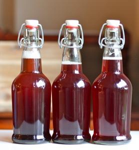 Kombucha-bottles