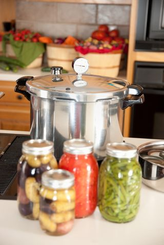 Canning with a Pressure Cooker