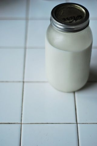 Goat Milk in a Jar
