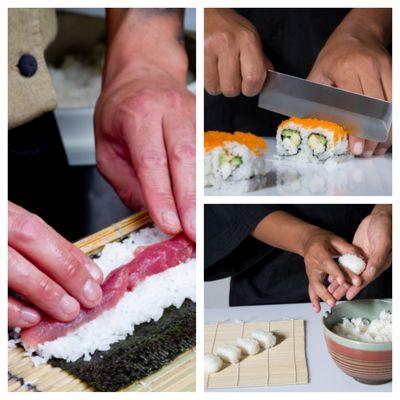 Picstitch Sushi class