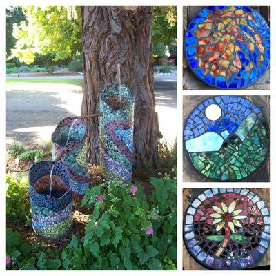 Love Apple Farms Workshop Garden Mosaics