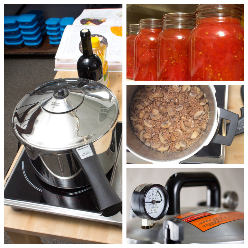 Picstitch pressure cooking class