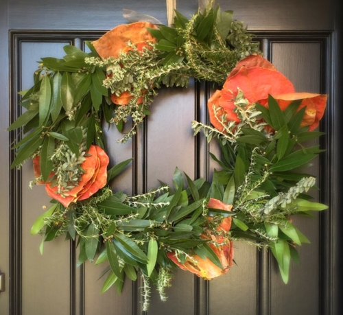 Leslie Marshall Wreath