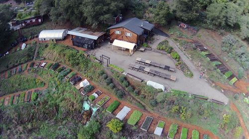 Aerial view taken by Justin Bronder