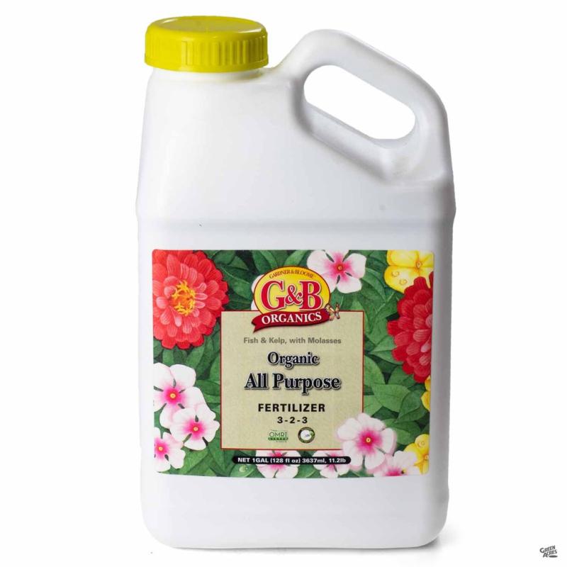 G&B liquid fertilizer one gallon